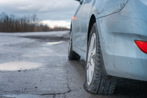 Sandy springs flat tire assistance